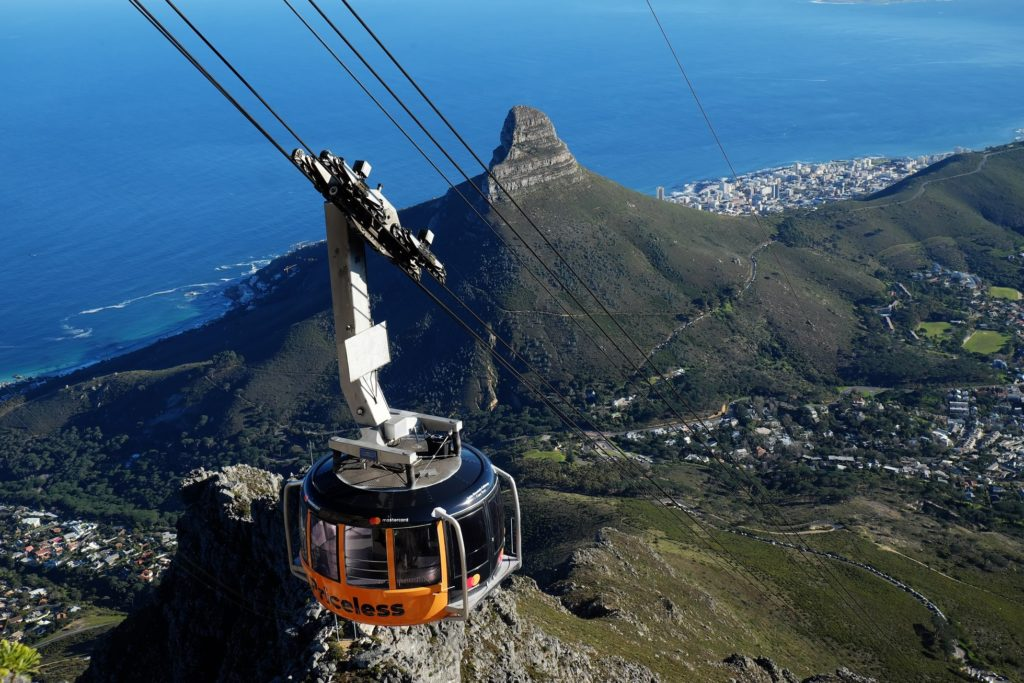 Table Mountain Cableway aims for 80% recycling by 2021