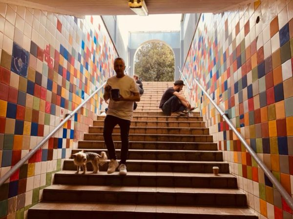 Observatory Cape Town community unite to transform local subway tunnel