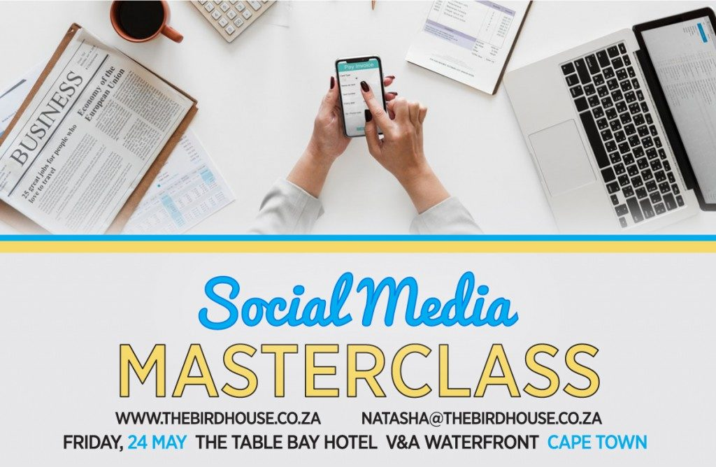 Join a Social Media Masterclass with a Special Price Tag