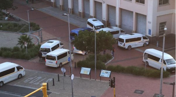 Taxi protests cause havoc in Green Point