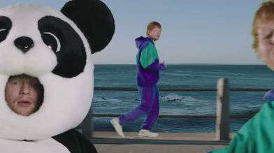 CT features in Ed Sheeran and Justin Bieber music video