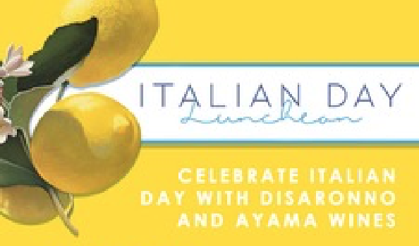 Italian Day Lunch and Live Music At 15 On Orange