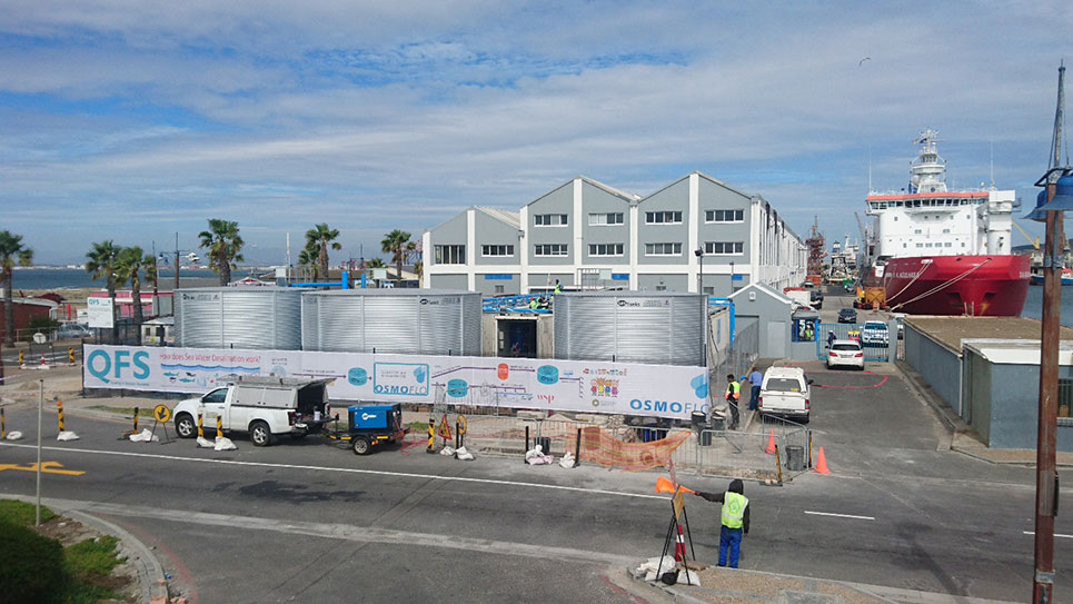 Seawater entering desalination plant 400% dirtier