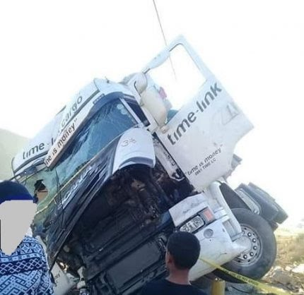 Rock throwing causes truck driver's death