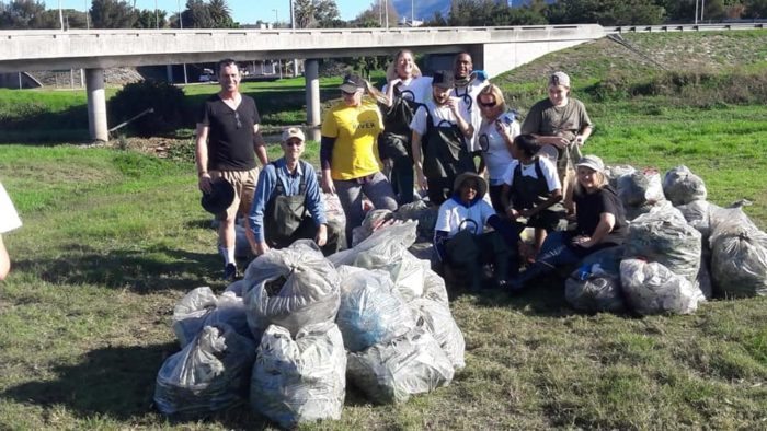 Record number of volunteers at river cleanup