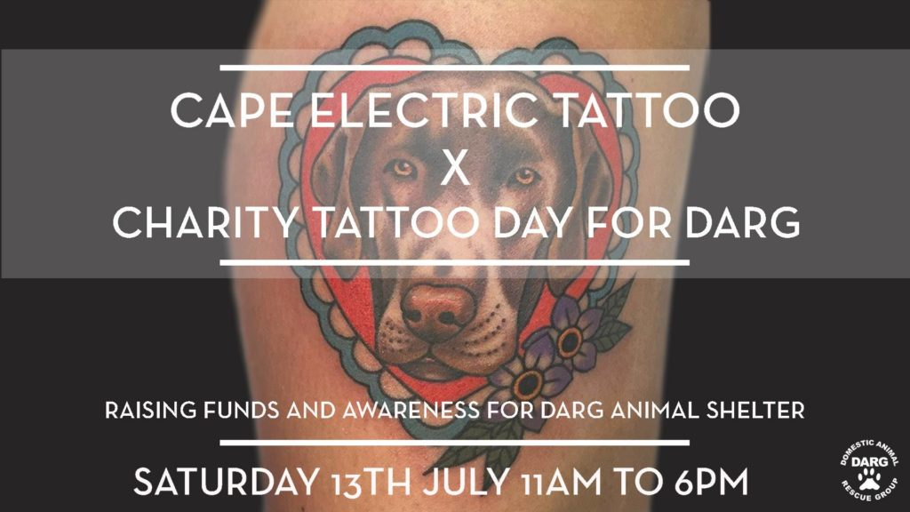 Charity Tattoo Day For DARG Animal Rescue