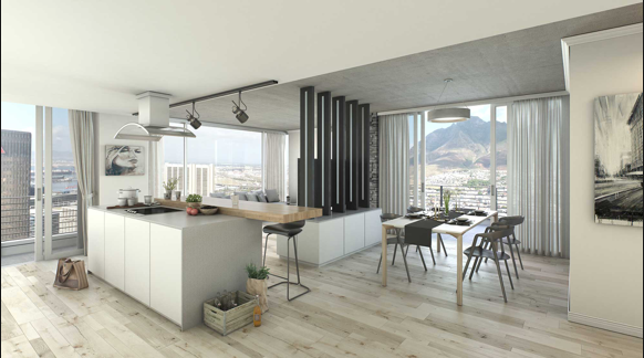 Take a look inside the tallest building set for construction in Cape Town