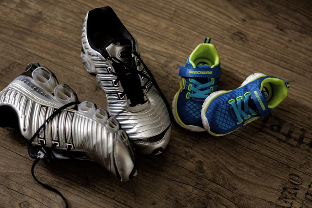 Shoe drive for underprivileged young athletes