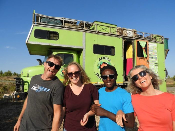 Vegetable oil powered truck returns to Cape Town