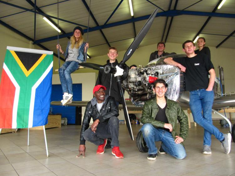 Cape teens land plane safely in Cairo