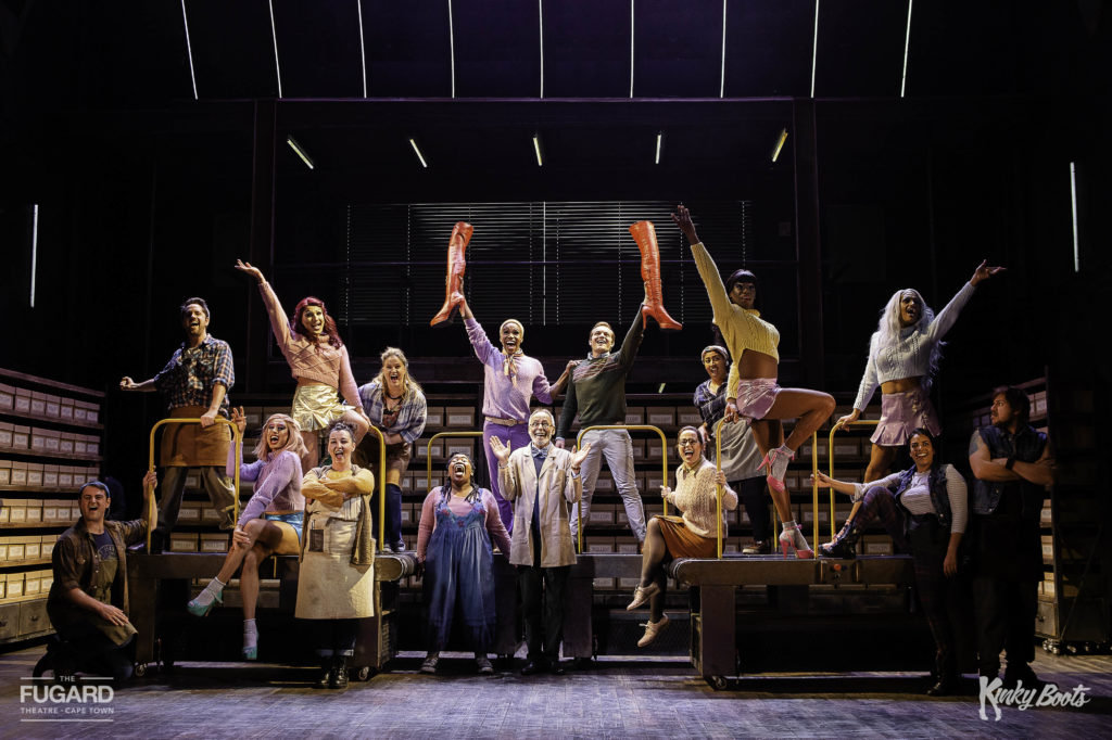 Runaway hit Kinky Boots at The Fugard Theatre