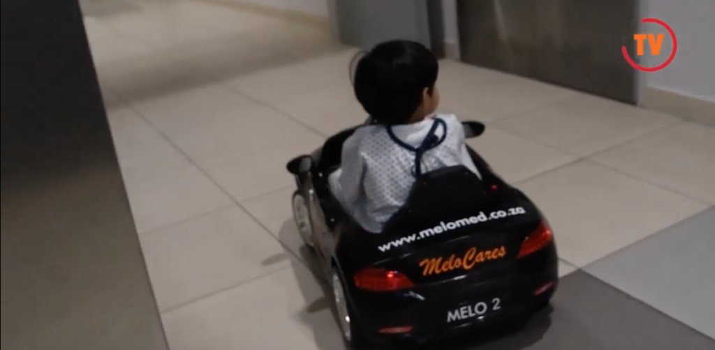 Melomed Hospitals introduce electric cars for kids