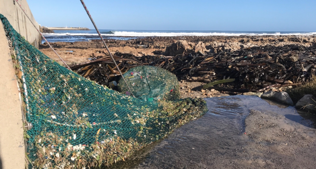 First litter-trapping stormwater net launches in Gansbaai