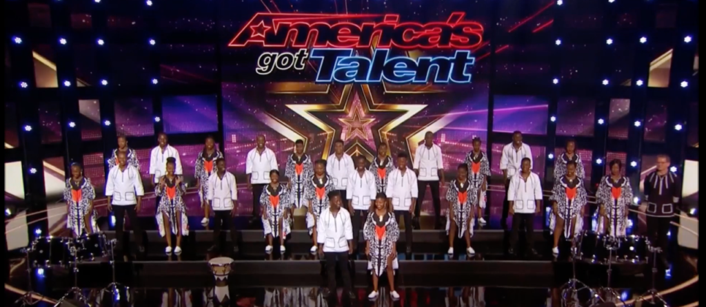 Ndlovu Youth Choir makes it to next round on AGT