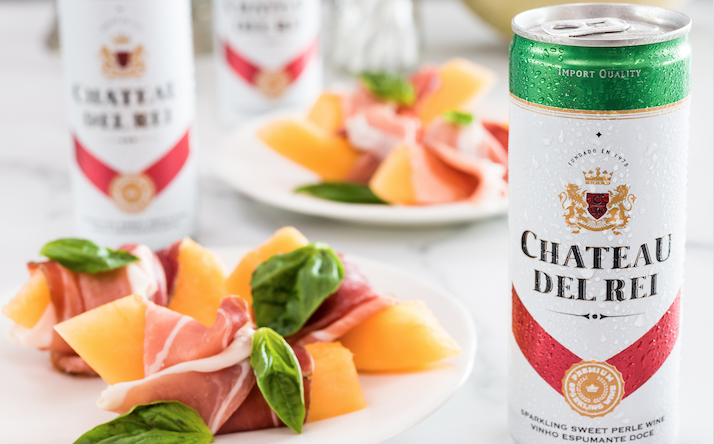 New Chateau Del Rei – the upbeat sparkling wine in a can