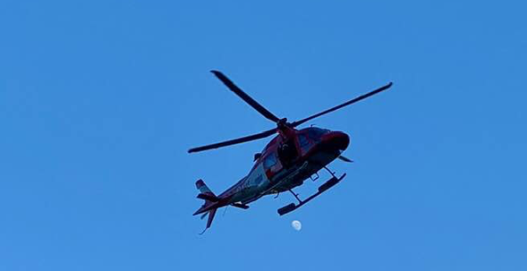 Hikers become stranded overnight