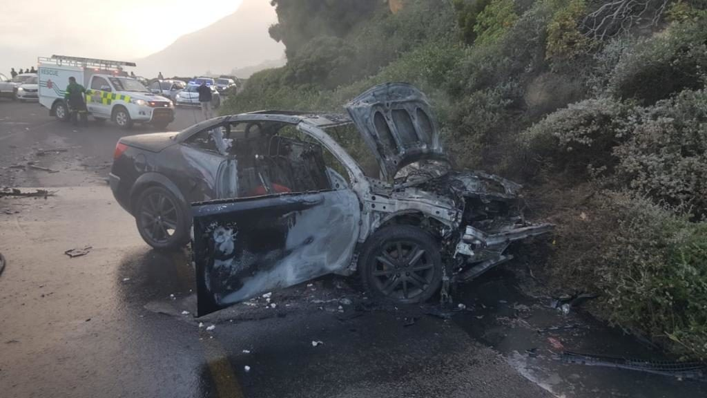 Chaos on Cape roads as accidents ensue