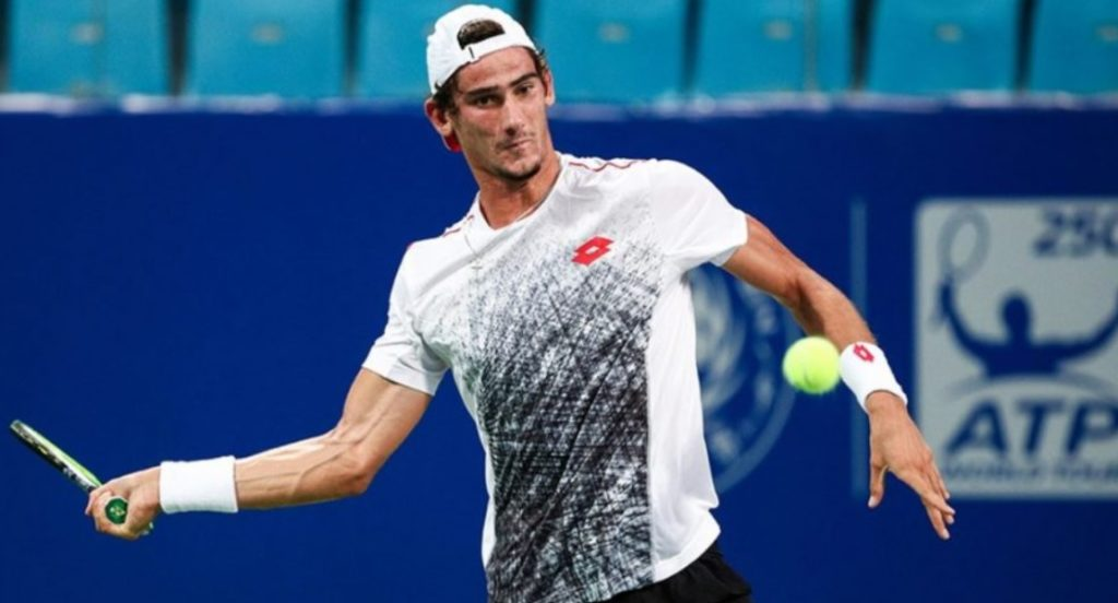 Local tennis star gives Federer a run for his money