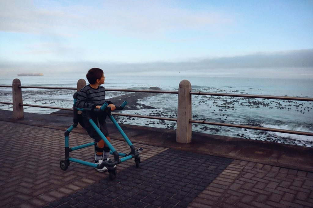 Capetonian helps disabled take their first steps