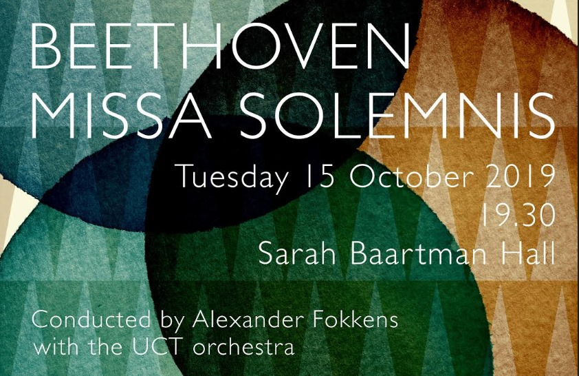 Symphony Choir of Cape Town sings Beethoven's Missa Solemnis