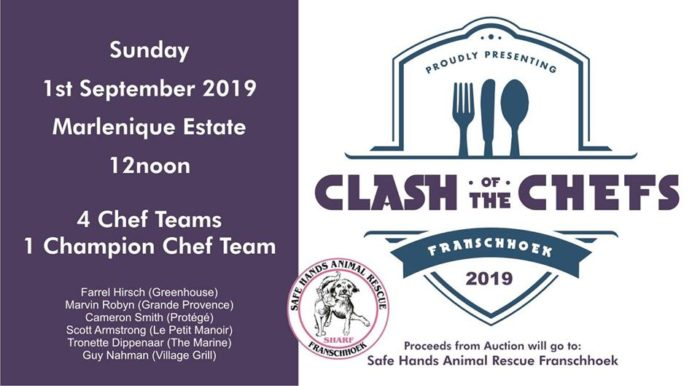 The third annual clash of the chefs 2019