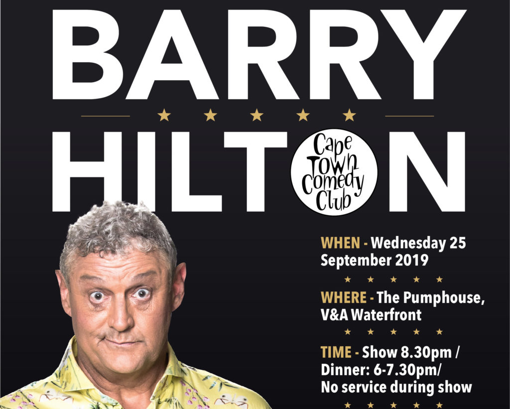 Barry Hilton in Cape Town