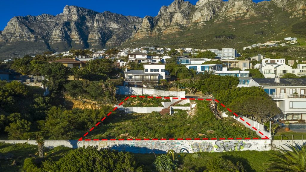 Rare plot of Camps Bay land for sale