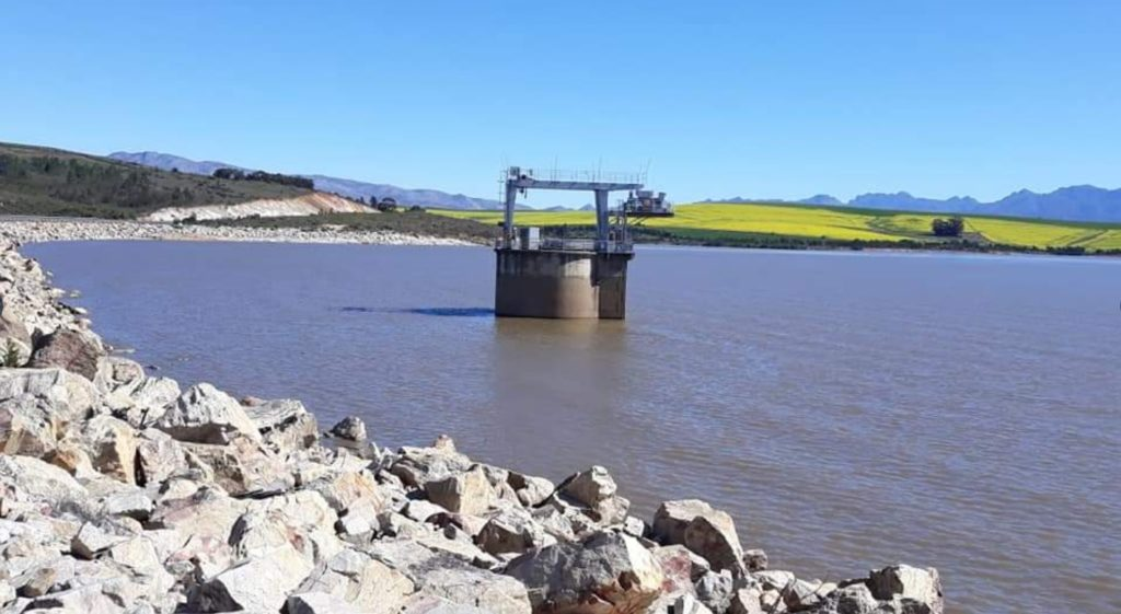 Cape dam levels officially hit 80%