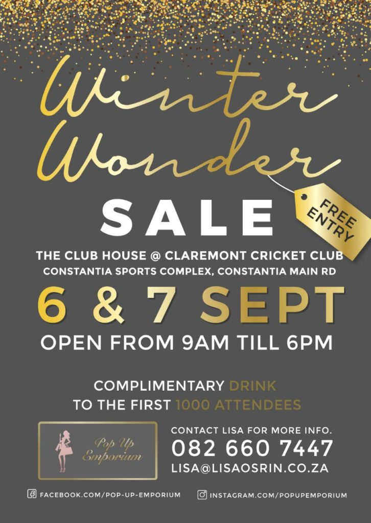 Pop Up Emporium's Winter Wonder sale