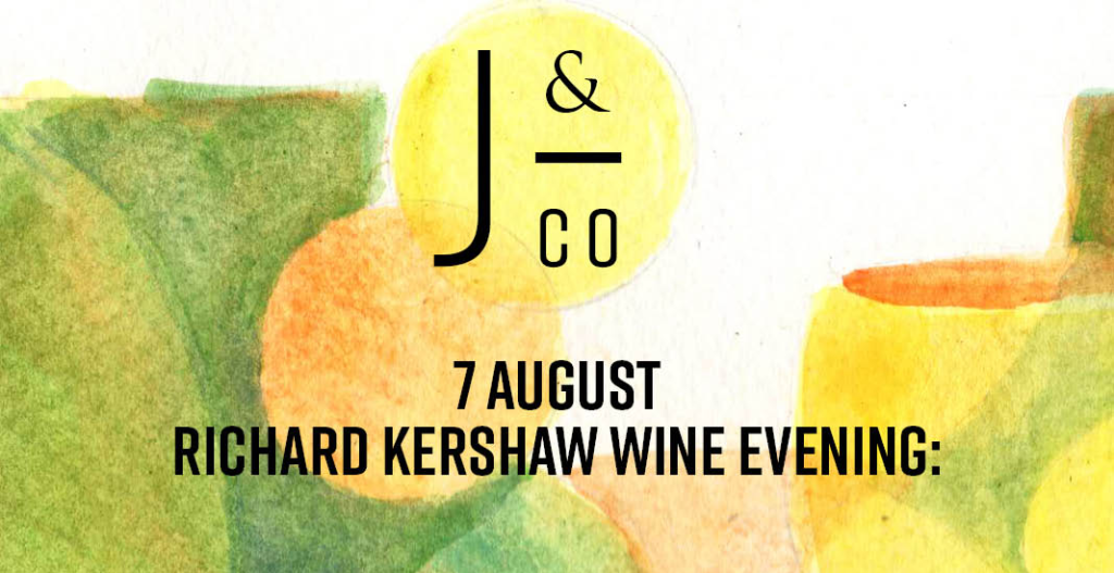 Janse & Co Dinner and Richard Kershaw Wines