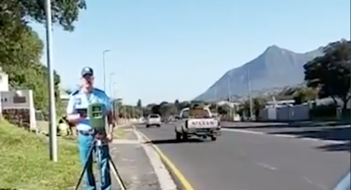 Cut-out traffic officers fool Cape motorists