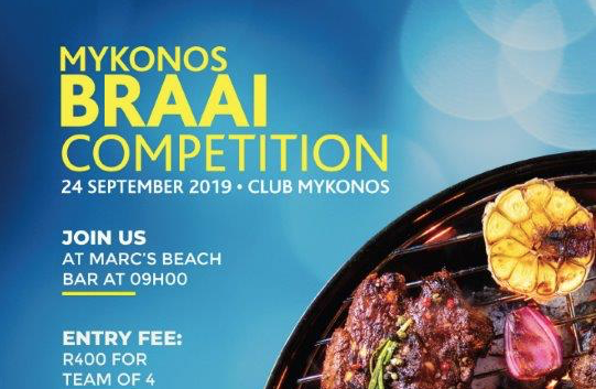 Heritage Day Braai Competition at Mykonos Casino