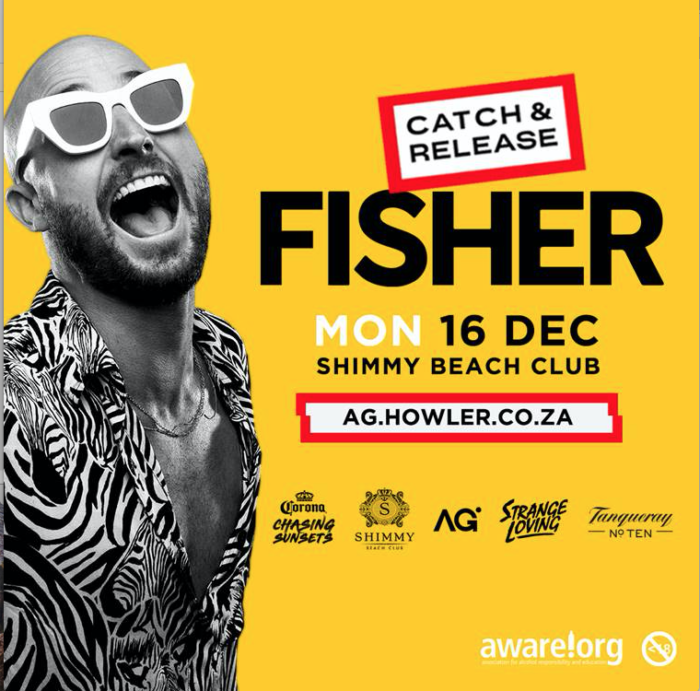 Fisher live at Shimmy Beach Club