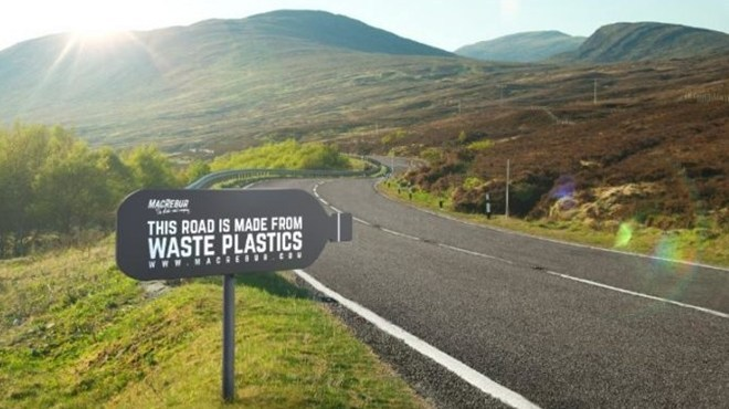 Work begins on SA's first plastic road