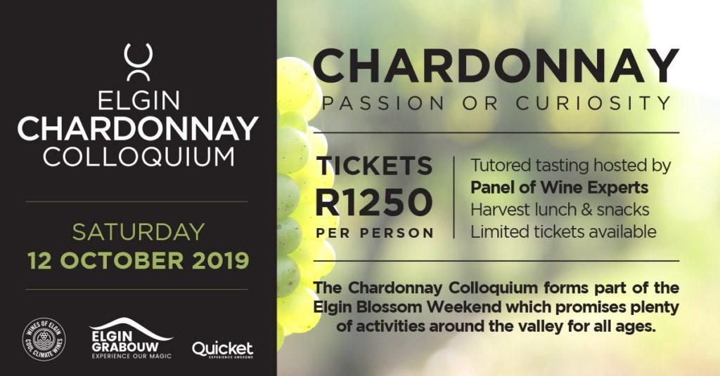 The fourth annual Elgin Chardonnay Colloquium