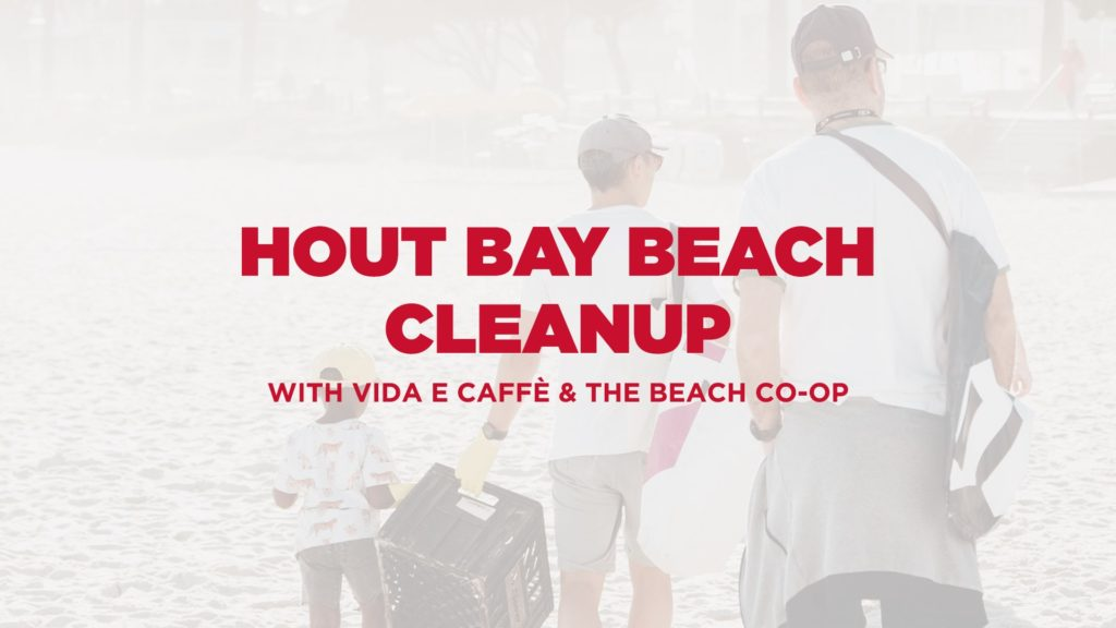 Hout Bay Beach cleanup