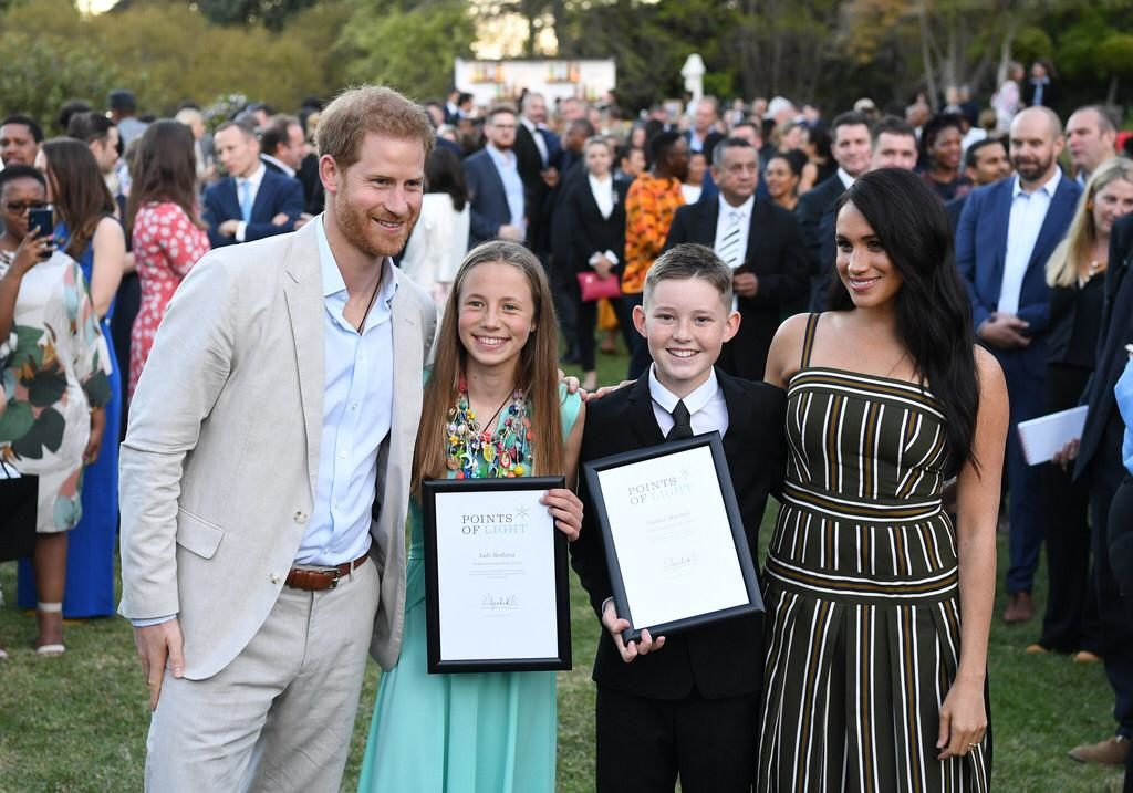 Young rhino conservationist honored by royals