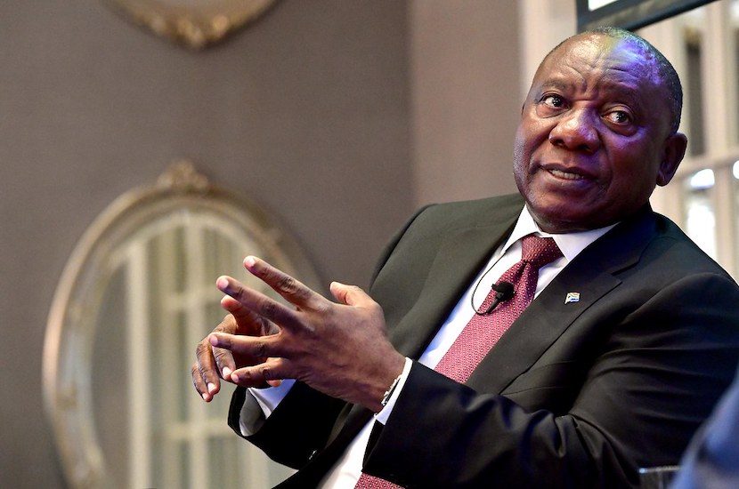 Join President Ramaphosa's book club