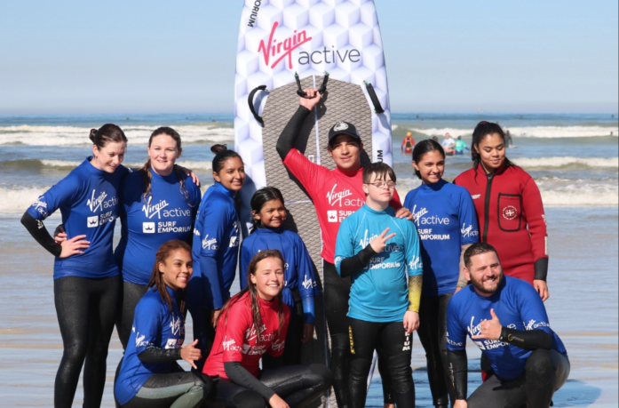 SA champ changes lives through surfing