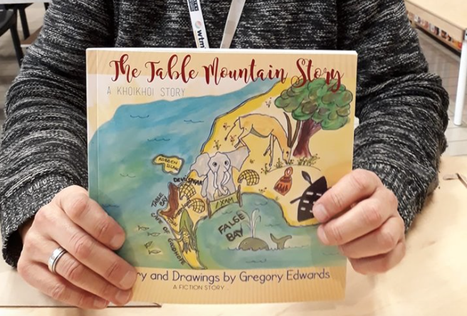 Table Mountain inspires children's book