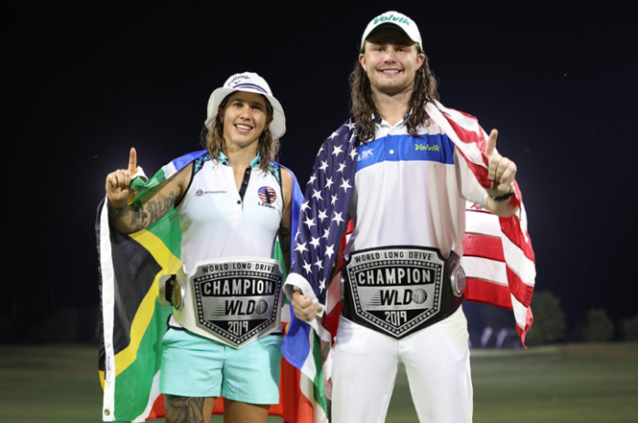Capetonian woman crowned World Long Drive champion