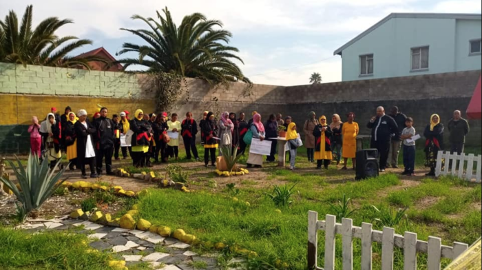 Bonteheuwel residents petition to save peace garden