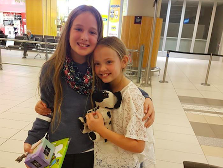 Best friends with rare disease unite in Cape Town