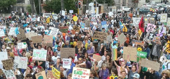 Cape Town rises to fight climate change