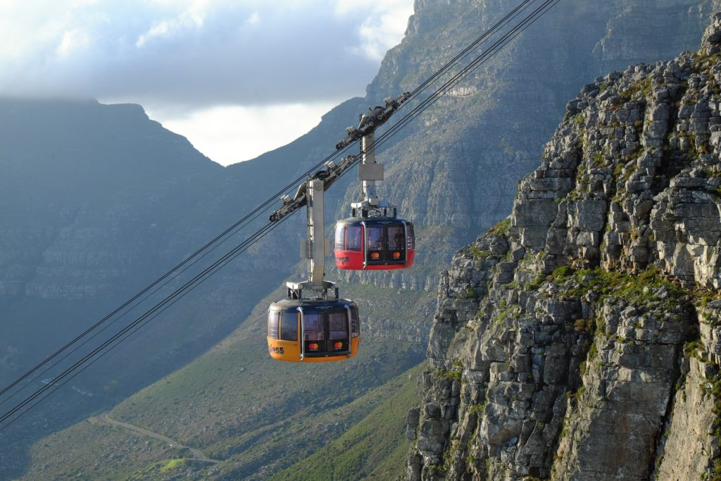 Visit the Table Mountain Cableway for R90