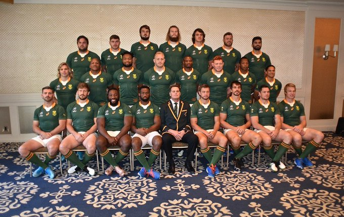 The Springboks are off to the World Cup Final
