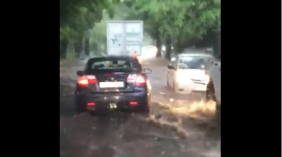 Spring rains flood parts of Cape Town