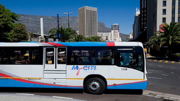 Security guard trapped under MyCiti bus