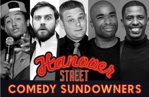 Comedy sundowners at Hanover Street Night Club