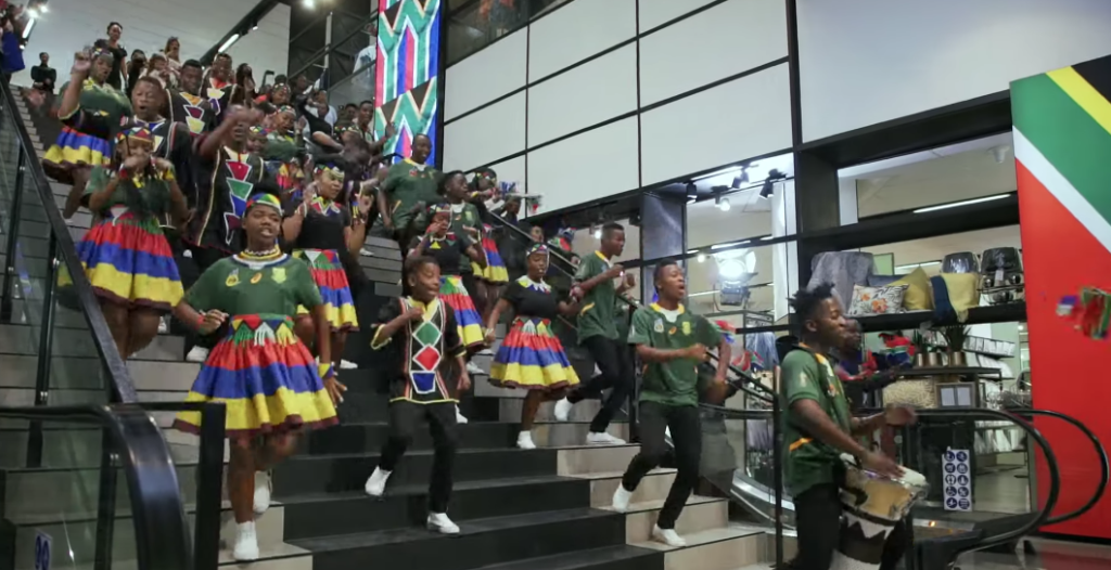 Ndlovu Youth Choir back bokke with new performance